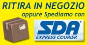 Dicori intimo e merceria, spedizioni con sda express courier oppure ritiro in negozio