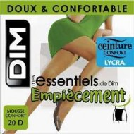 DIM COLLANT CALIBRATO 20 DEN MES ESSENTIELS DE DIM EMPIECEMENT